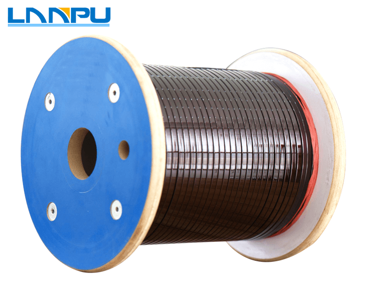 Enameled Flat/Rectangular Aluminum Wire