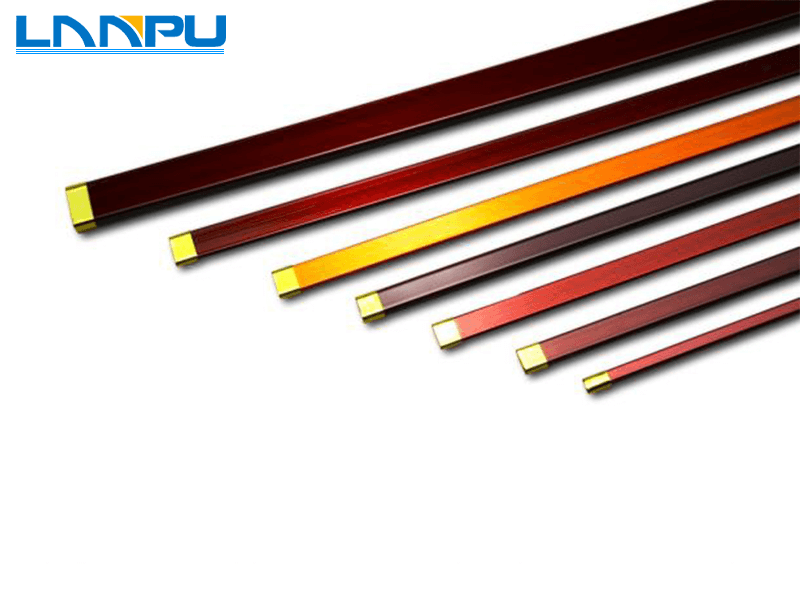 Enameled Flat(Rectangular) Copper Wire, copper magnet wire, flat ...