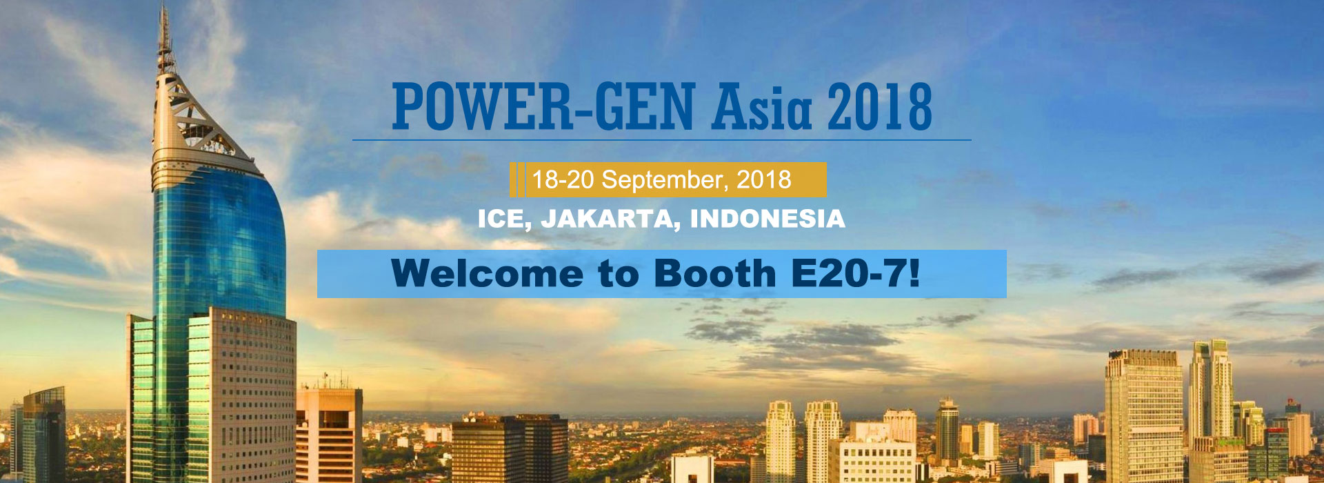 POWER-GEN Asia 2018