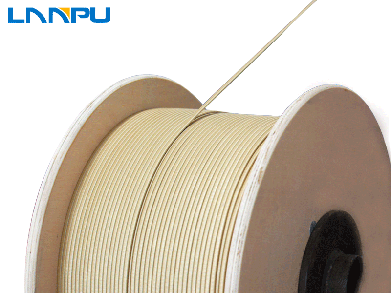 Fiber Glass Covered Round/Flat Aluminum Wire