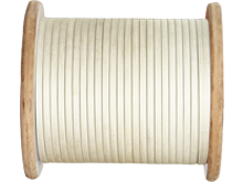 Fiber Glass Covered Round/ Flat Aluminum Wire