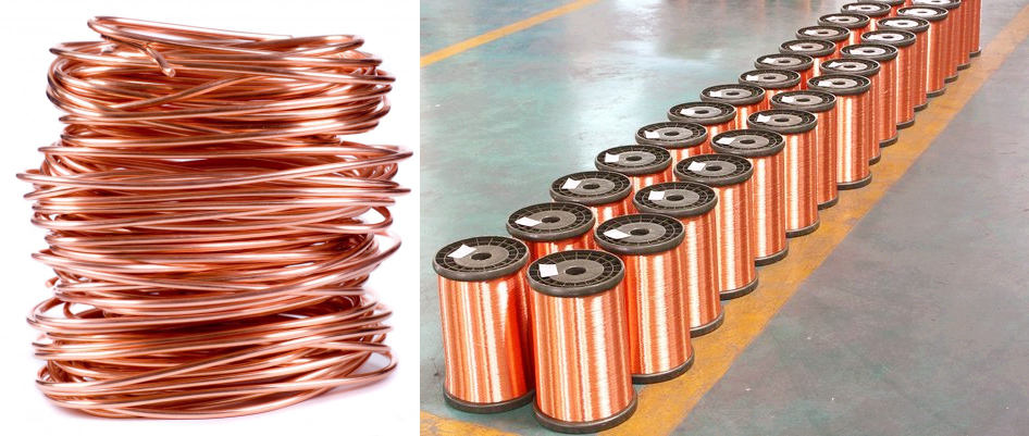 winding copper wire