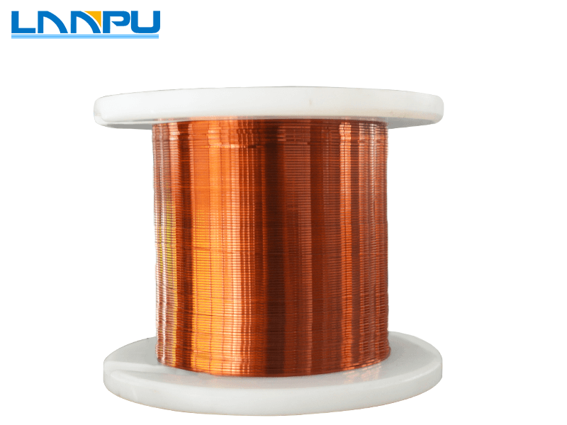 Ultra Fine Rectangular Enameled Copper Wire